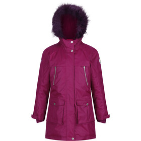 Regatta Haloma Parka Fille, beetroot